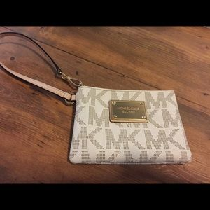MK wallet wristlet